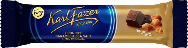Батончик шоколадный с малиновым йогуртом Karl Fazer