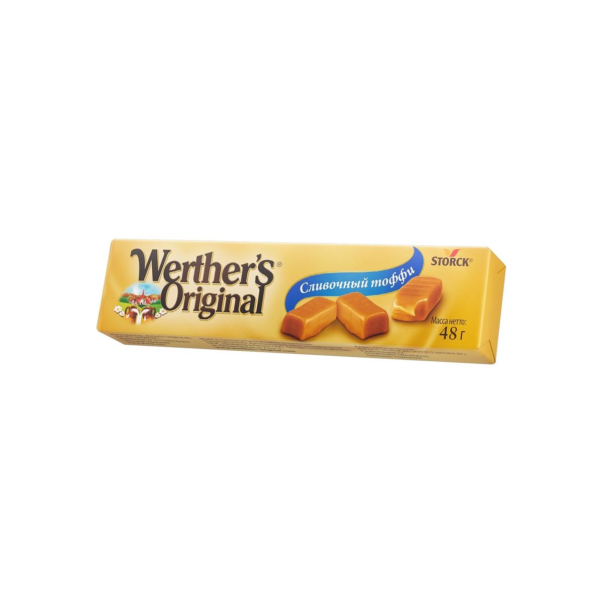 Мягкий ирис сливочный тоффи  Werthers Original
