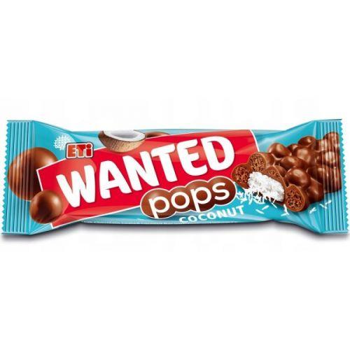 Батончик Wanted Pops Кокос 28г ETI