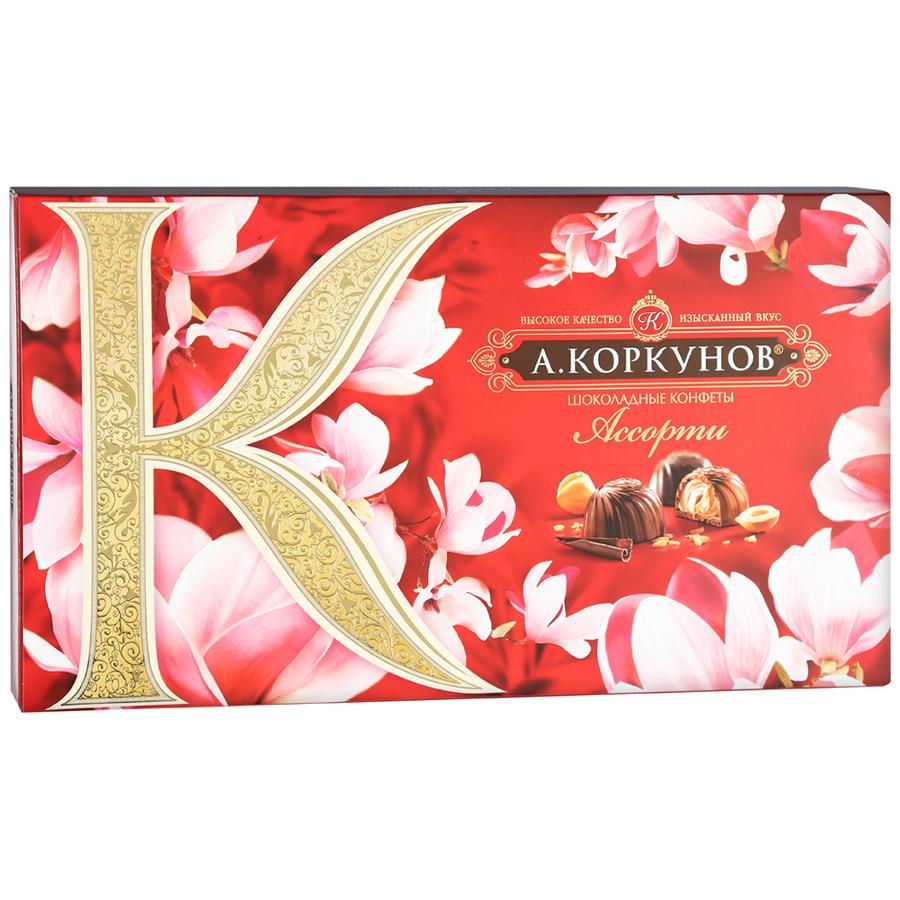 Коркунов Конфеты в ассортименте темный шоколад Коркунов недорого