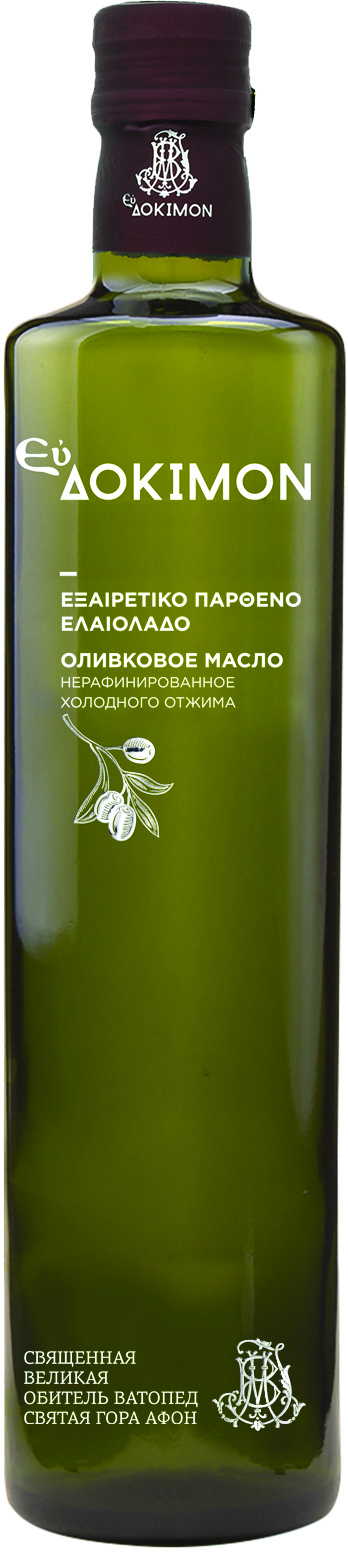 Масло оливковое нерафинированное первый холодный отжим  Eydokimon