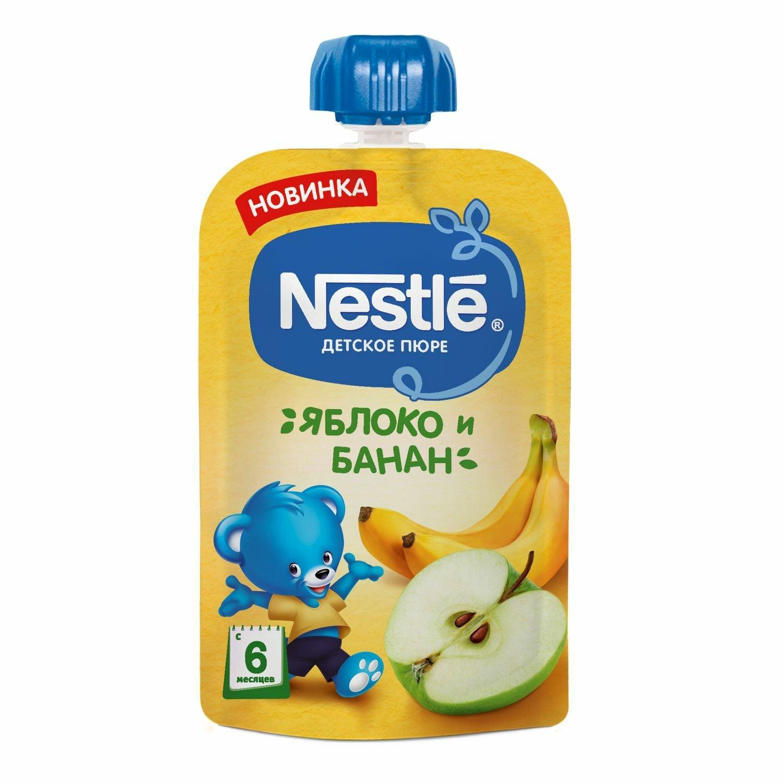 Фото - Nestle Пюре Nestle яблоко-банан, 90г marion nestle pet food politics