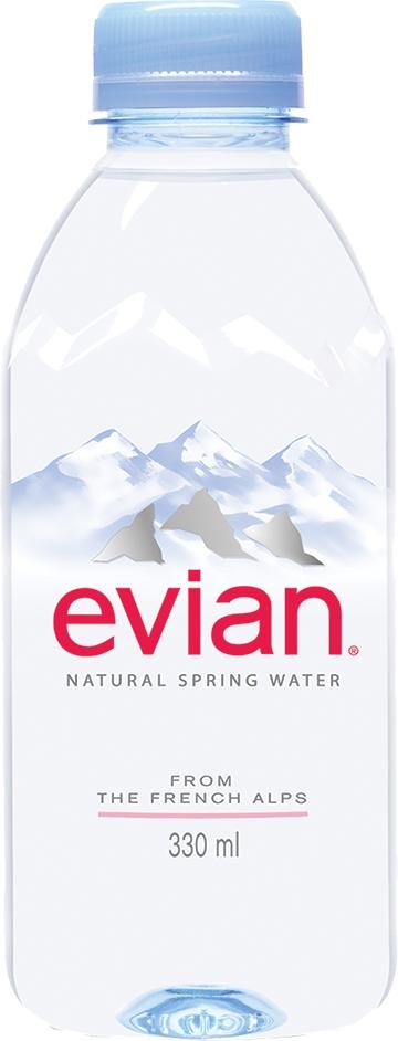Вода негазированная Evian