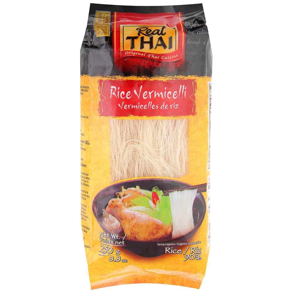 Лапша рисовая 5 мм 250г Real Thai