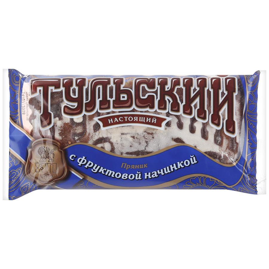 Тульский ХК Пряник с фруктовой начинкой 140г Тульский
