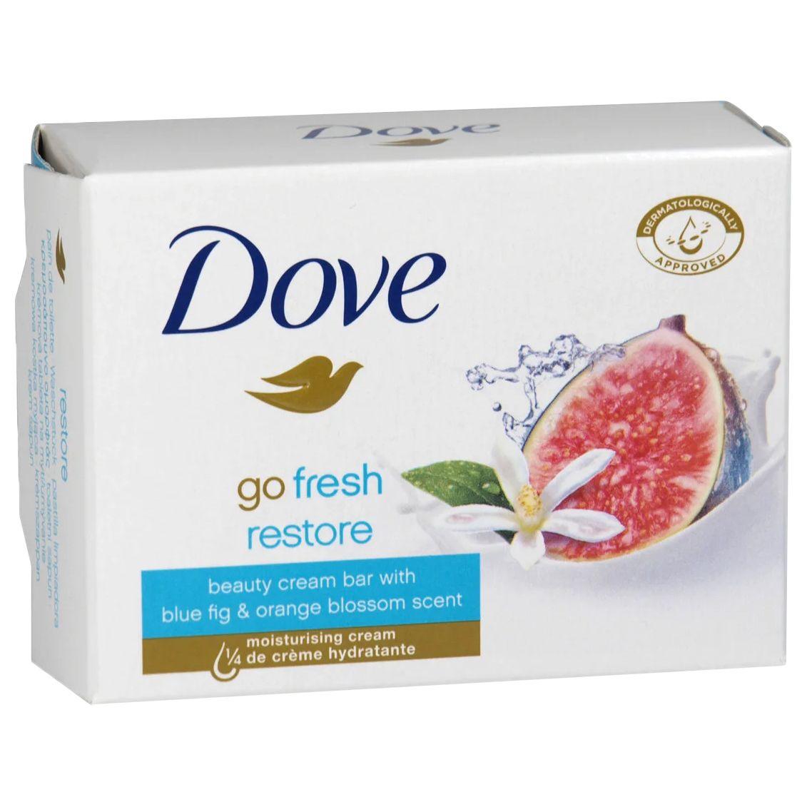 Дав Крем-мыло Инжир и лепестки апельсина Dove