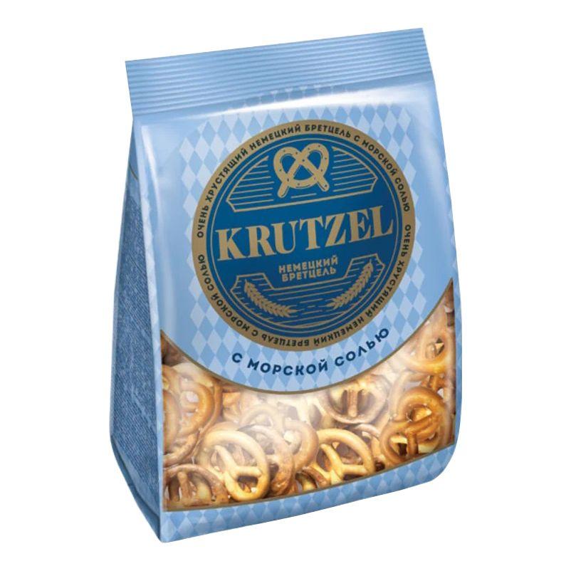Крендельки Бретцель с солью 250г Krutzel