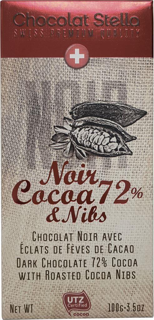 шоколад valrhona guanaja горький с кусочками какао бобов 70% какао 70 г БЕЗ БРЭНДА Шоколад темный с кусочками какао-бобов Chocolat Stella