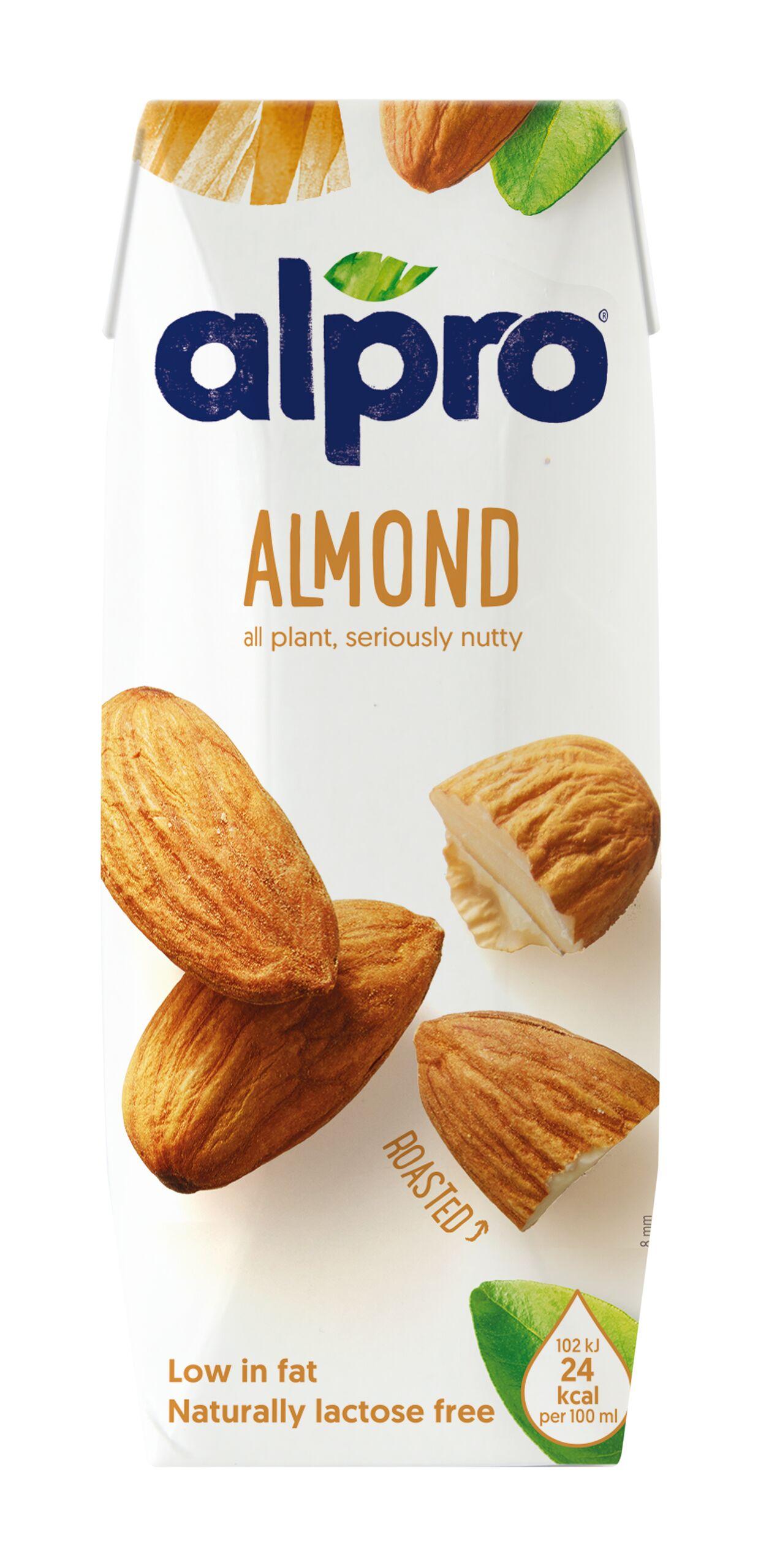 Напиток миндальный обогащенный кальцием и витаминами Alpro