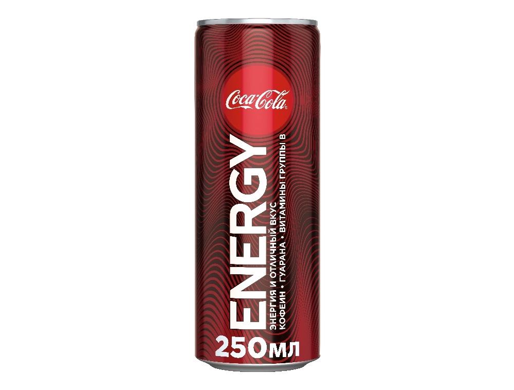Напиток энергетический Кока-Кола Энерджи