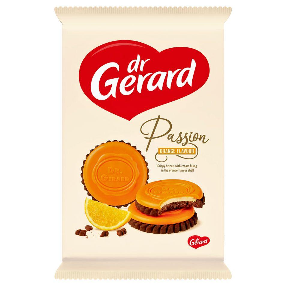 СИ - Печенье с апельсиновой начинкой в глазури со вкусом апельсина Пэшшен 170г Dr Gerard