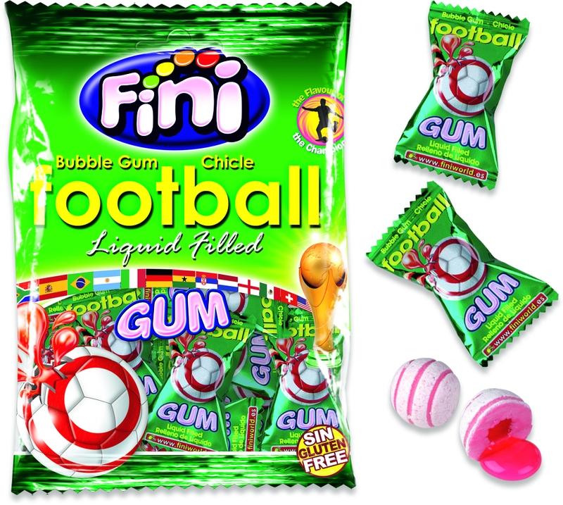 Жевательная резинка Футбол 80г Fini