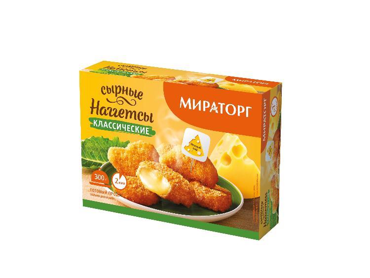 Мираторг Сырные наггетсы Классические