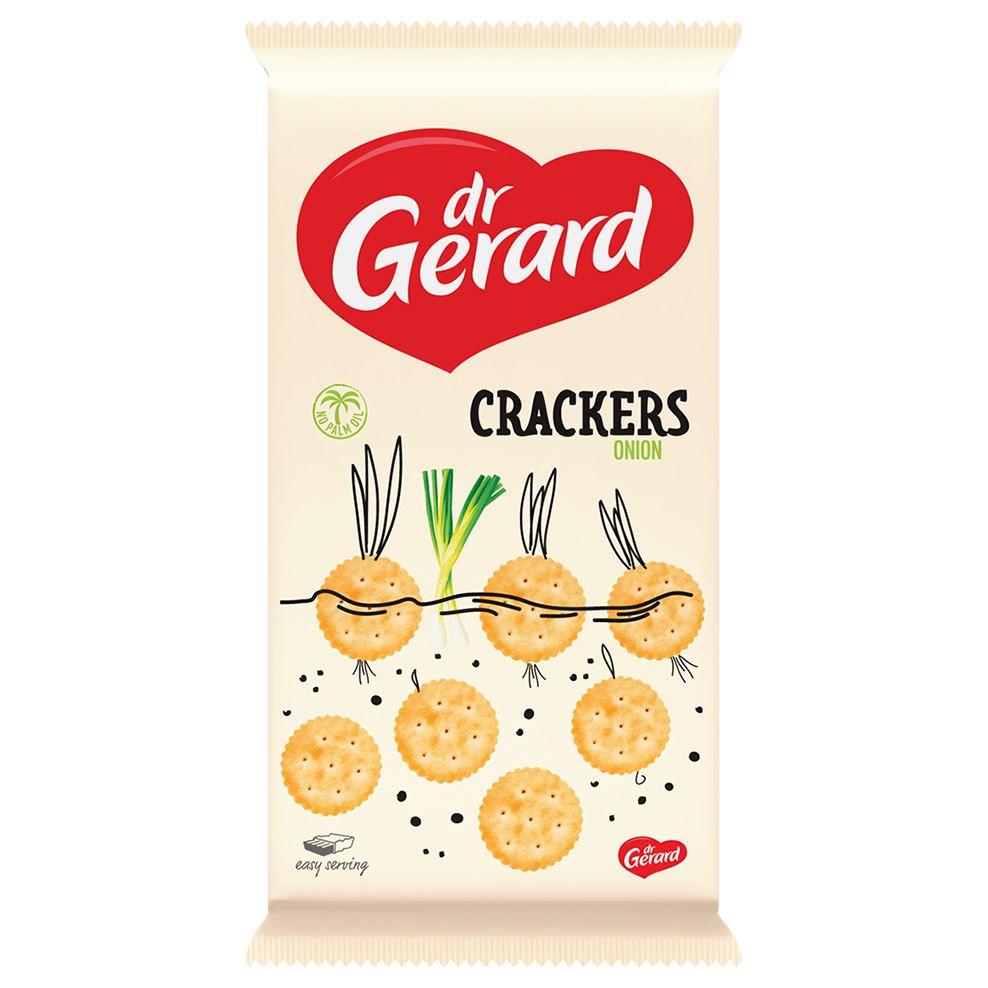 Крекеры со вкусом лука Dr Gerard