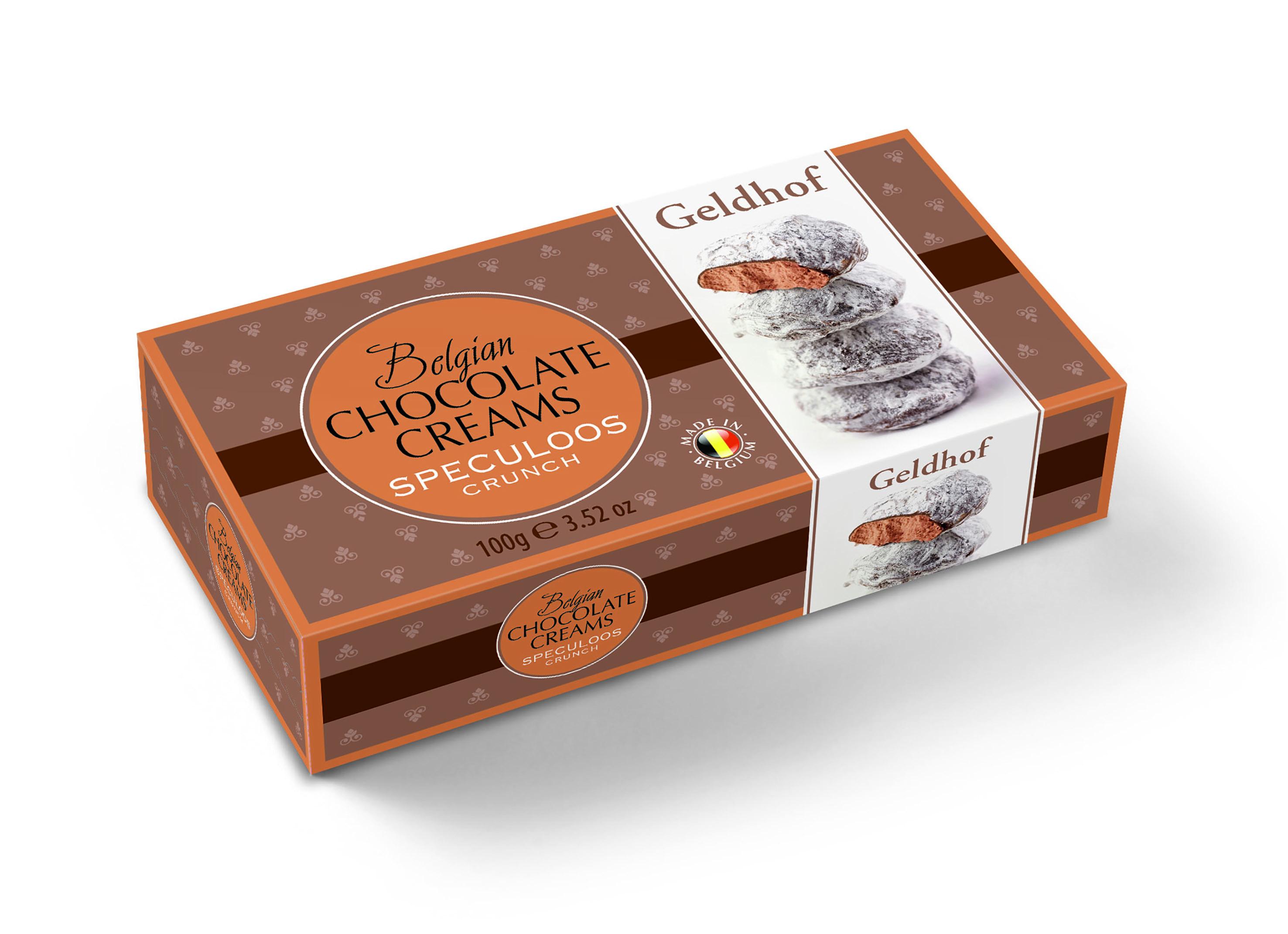 Суфле шоколадное с хрустящим печеньем Geldhof