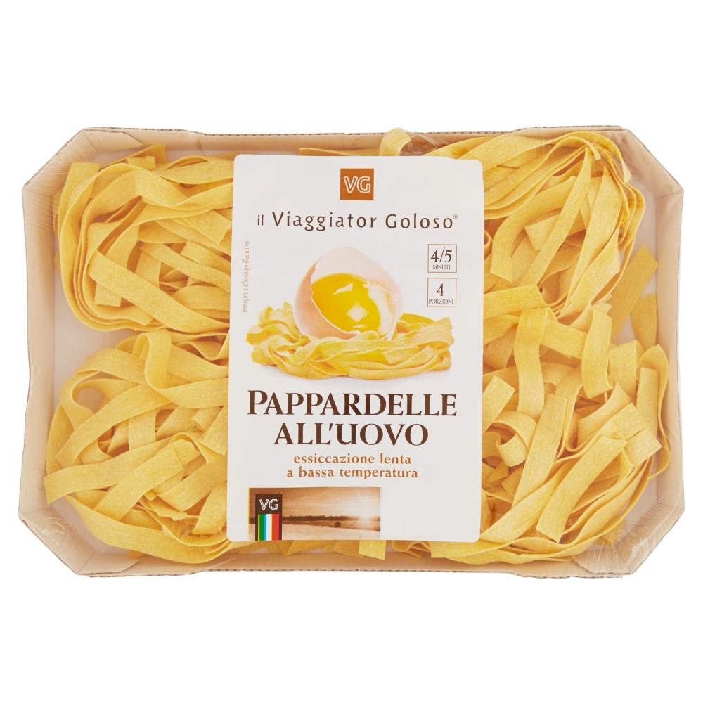 Макароны из твердых сортов пшеницы Паппарделле Il Viaggiator Goloso
