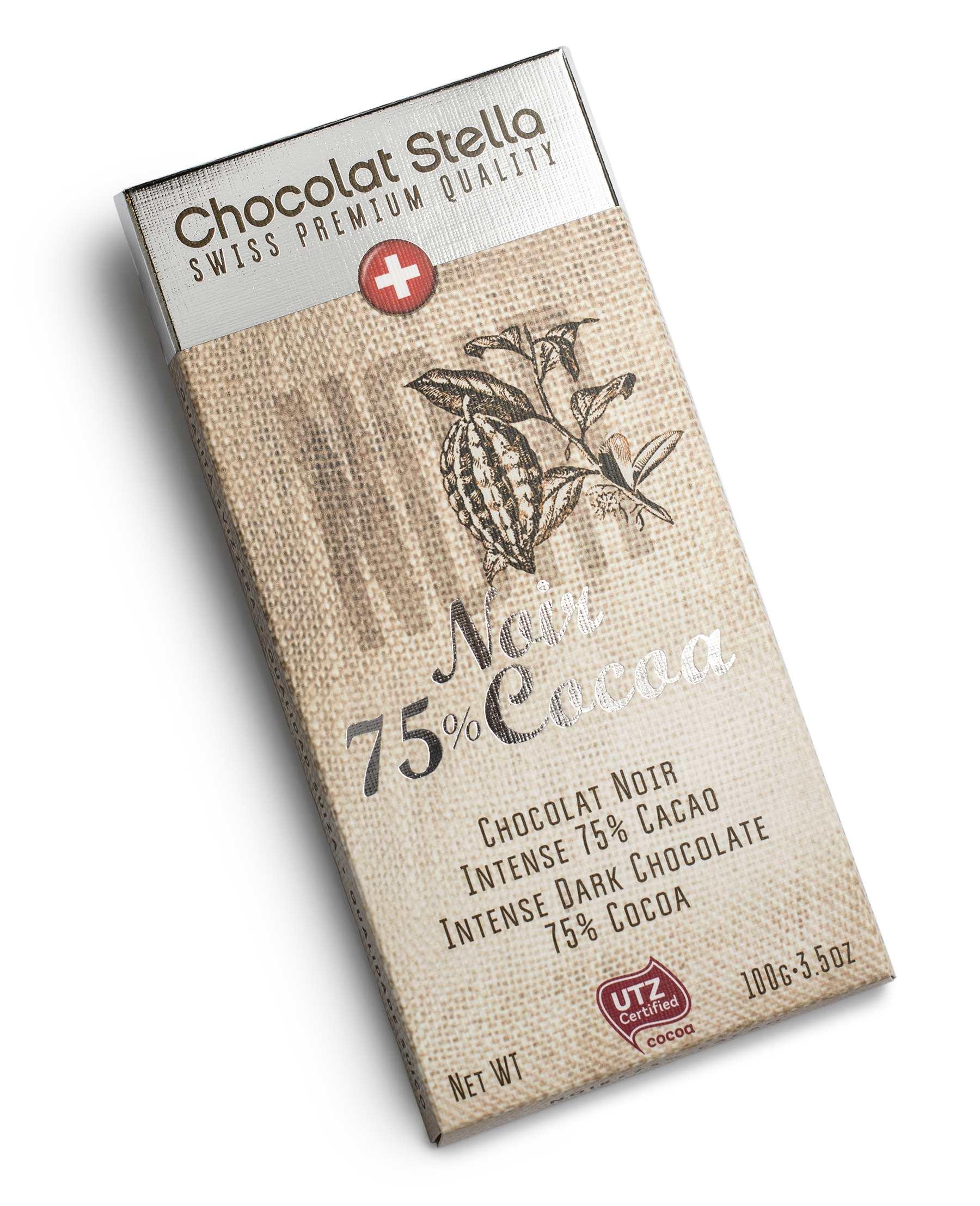 Шоколад темный Chocolat Stella