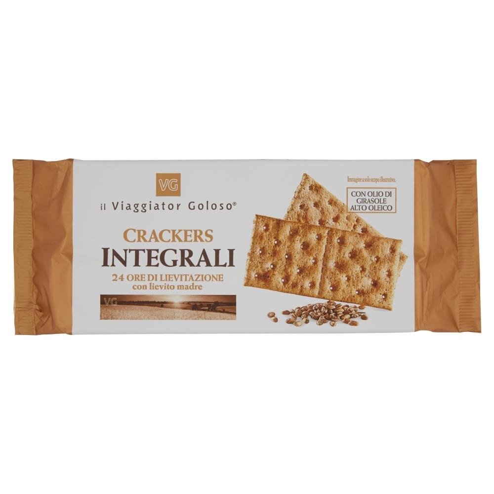 Крекеры из цельнозерновой пшеницы Il Viaggiator Goloso