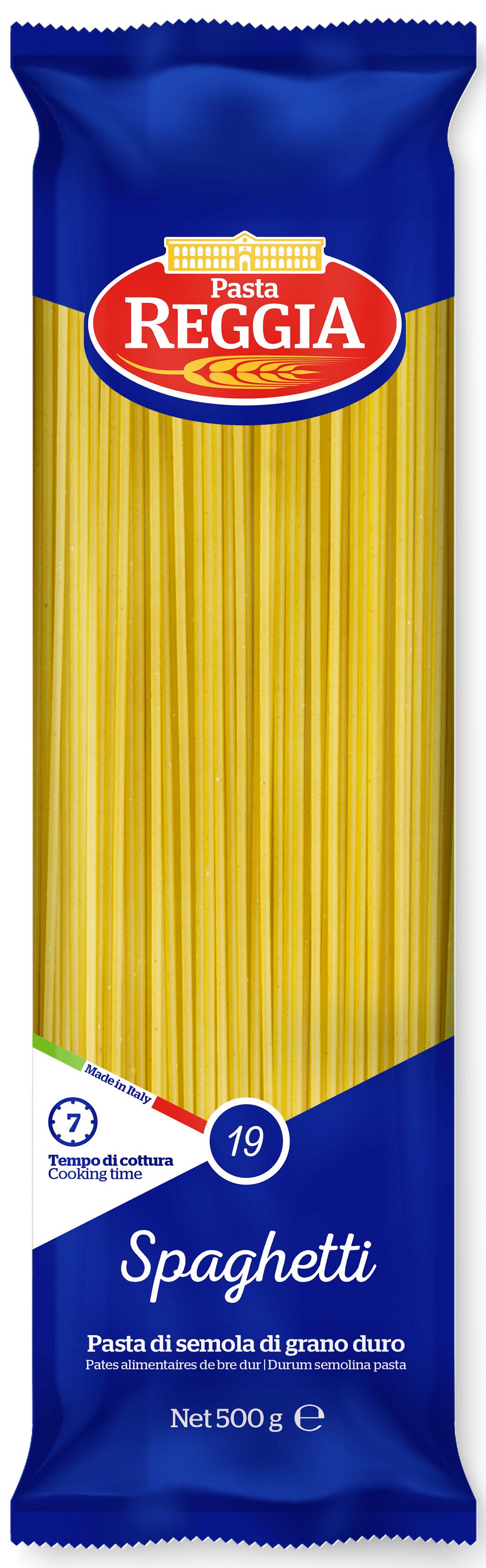 Макаронные изделия из твердых сортов пшеницы Spaghetti 500г Reggia