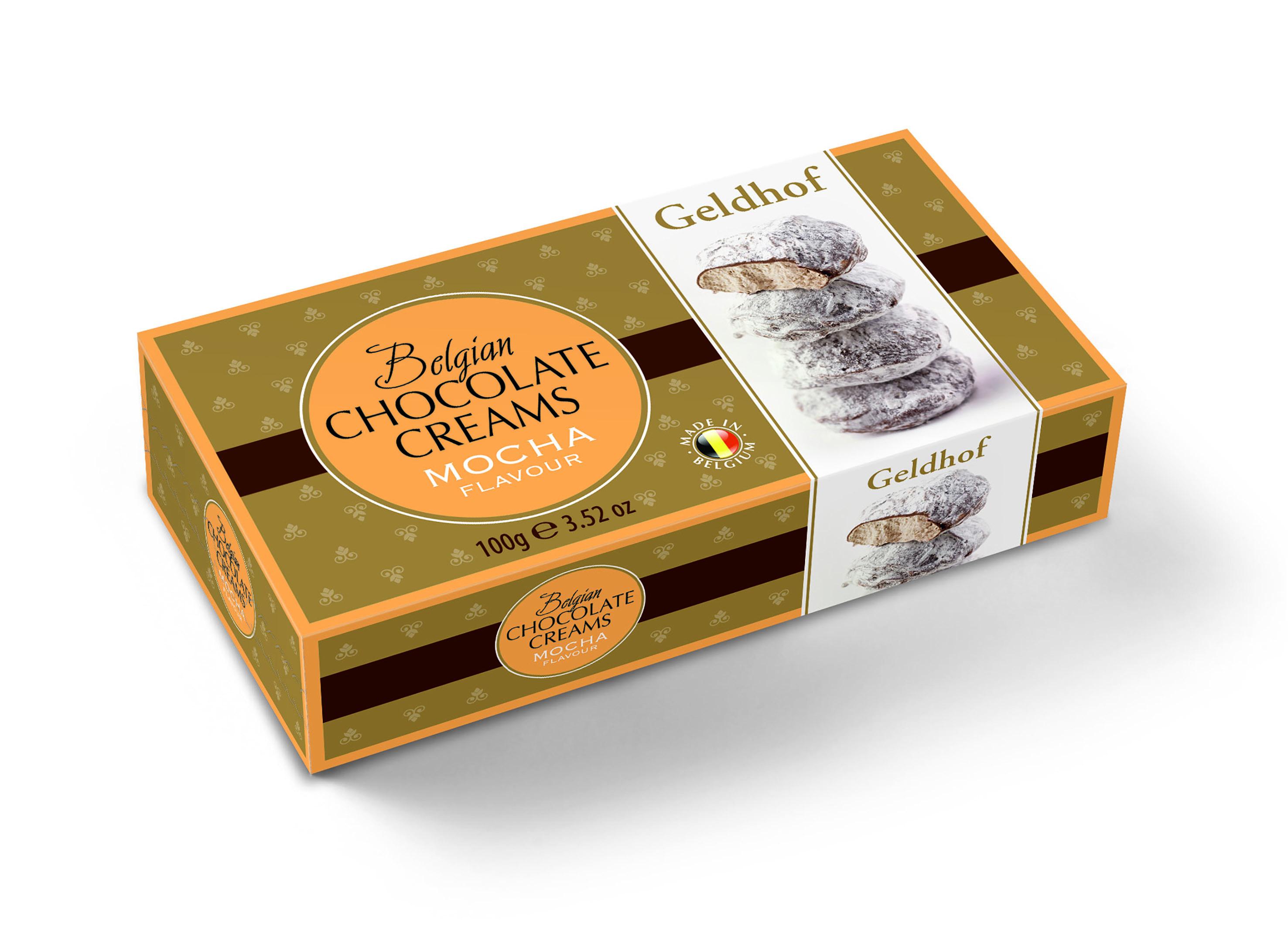 Суфле из белого шоколада со вкусом кофе мокко Geldhof
