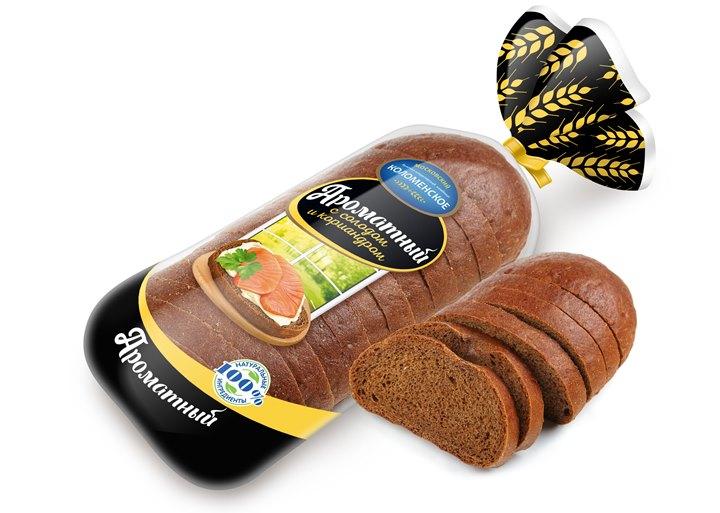 Хлеб Ароматный 400г уп. Коломенское