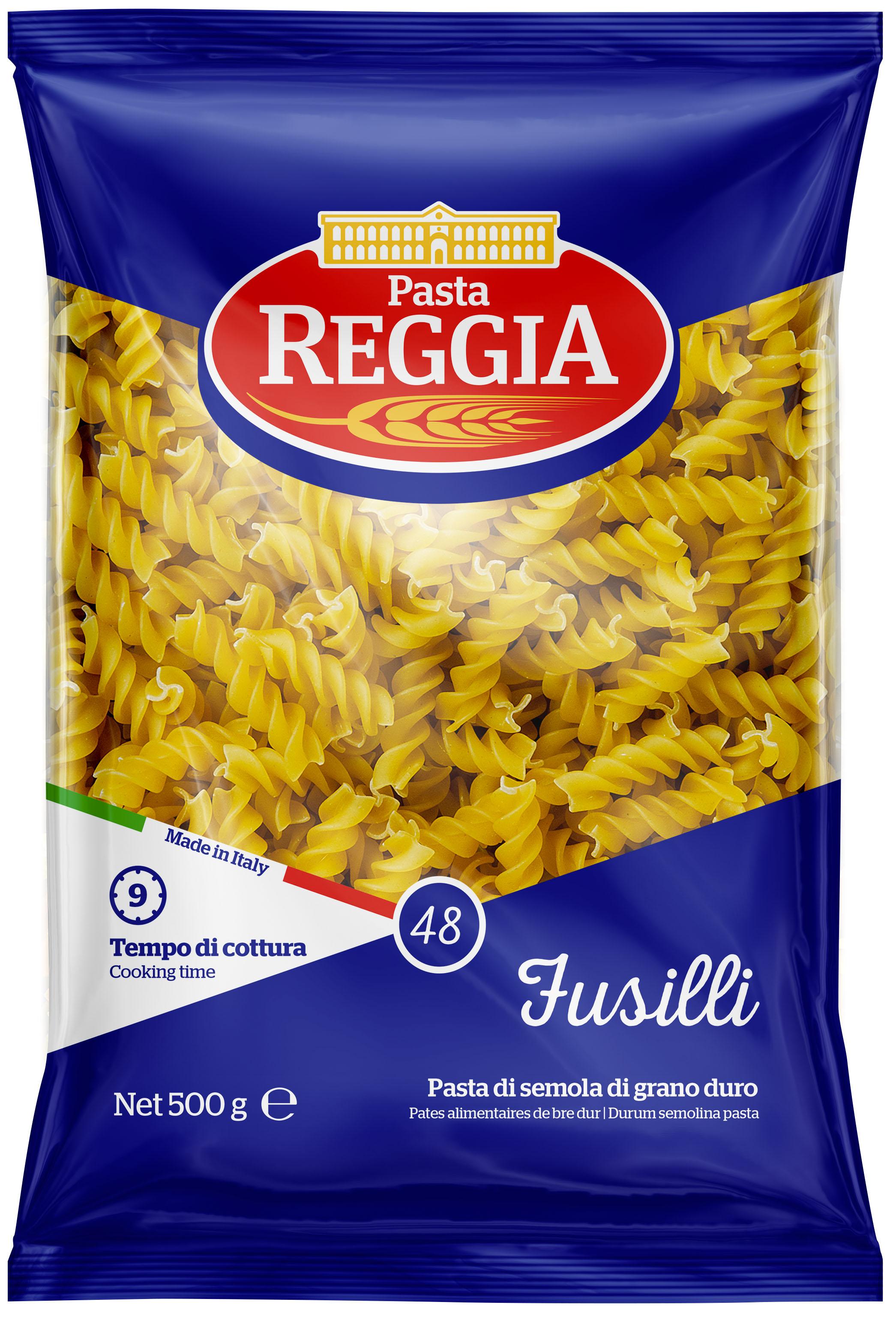 Макаронные изделия из твердых сортов пшеницы Fusilli 500г Reggia