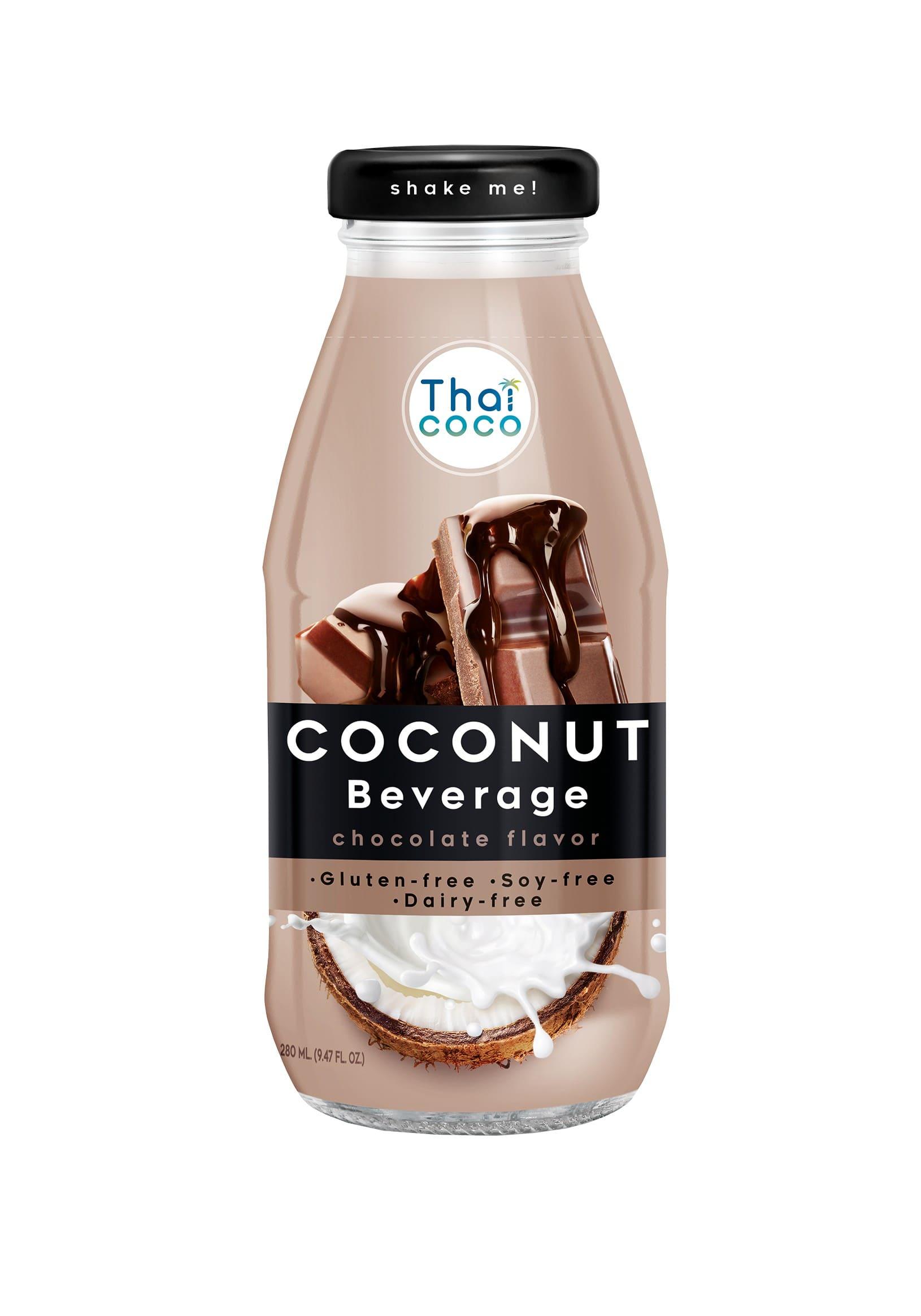 Кокосовый напиток со вкусом шоколада Thai Coco