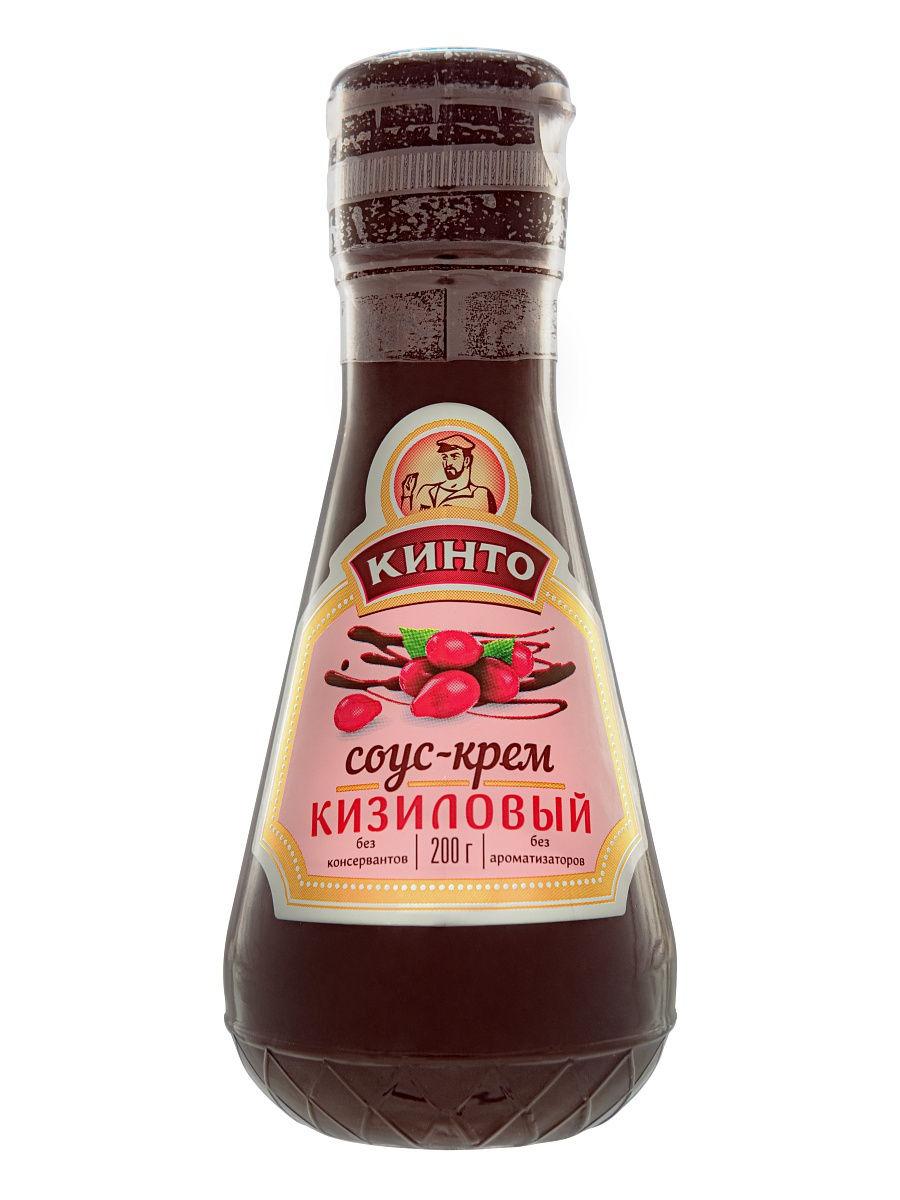 Кинто Соус-крем Кизиловый 200г Кинто