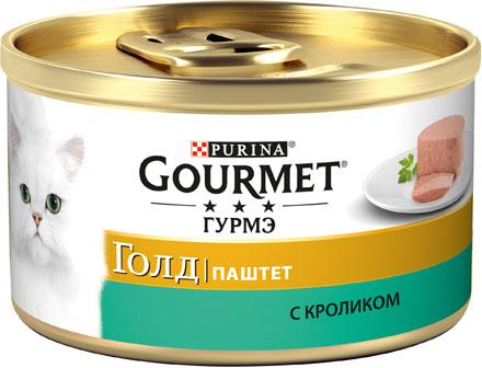 Фото - Gourmet Корм для кошек паштет с кроликом Gourmet Gold antonio sotos gourmet перец паприка красный молотый сладкий antonio sotos gourmet