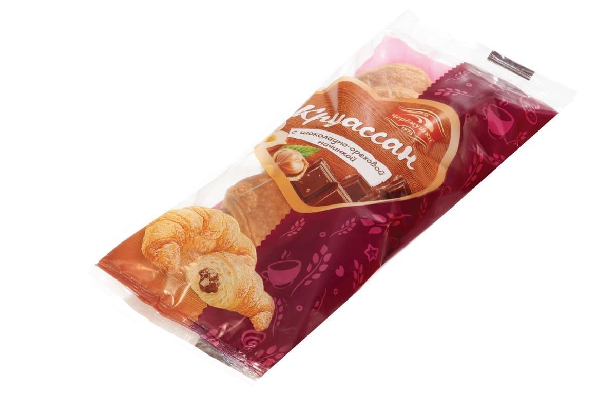 Круассан с шоколадно-ореховая начинка  Черемушки