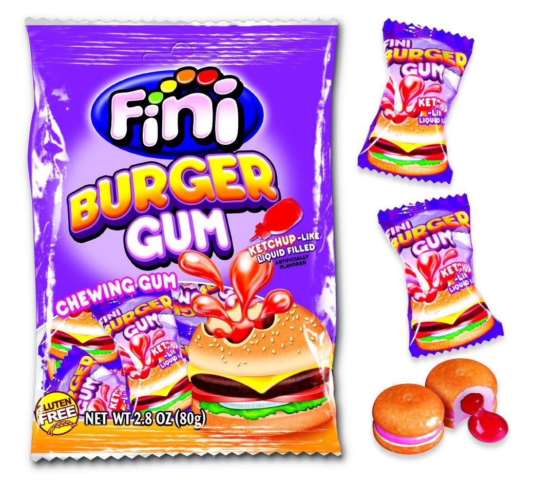 Жевательная резинка Бургер Fini