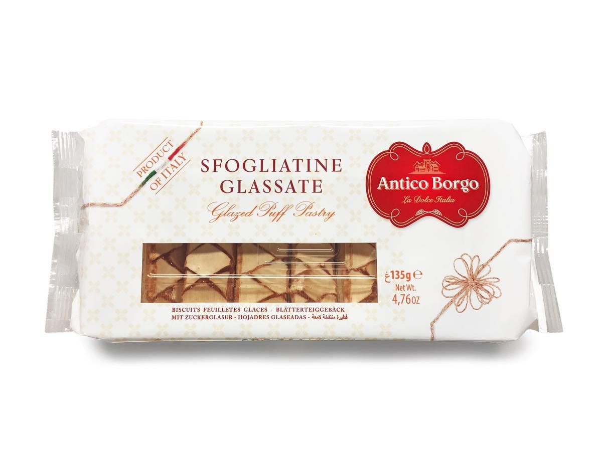 Печенье слоеное глазированное Antico Borgo
