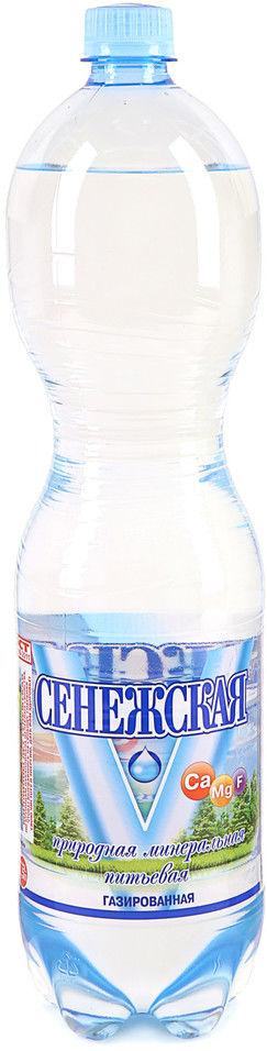 Сенежская Вода минеральная газированная Сенежская 1.5 л. недорого