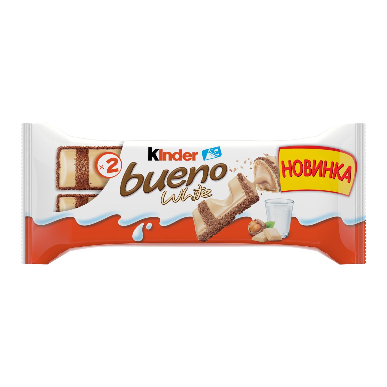 Вафли Kinder Bueno White