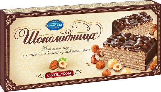 Торт с фундуком Шоколадница