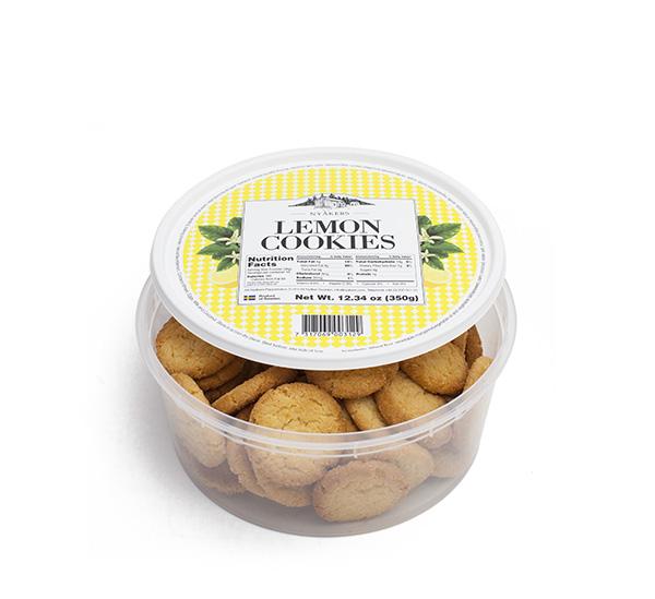 Печенье лимонное Nyakers