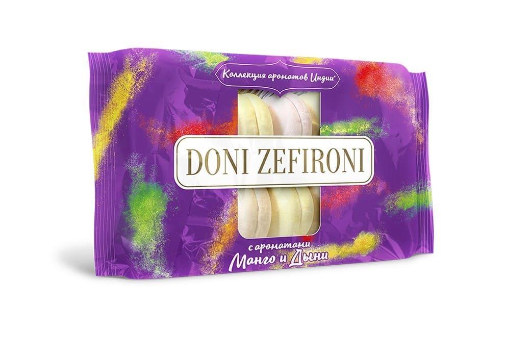 Зефир с ароматом манго и дыни Doni Zefironi Нева