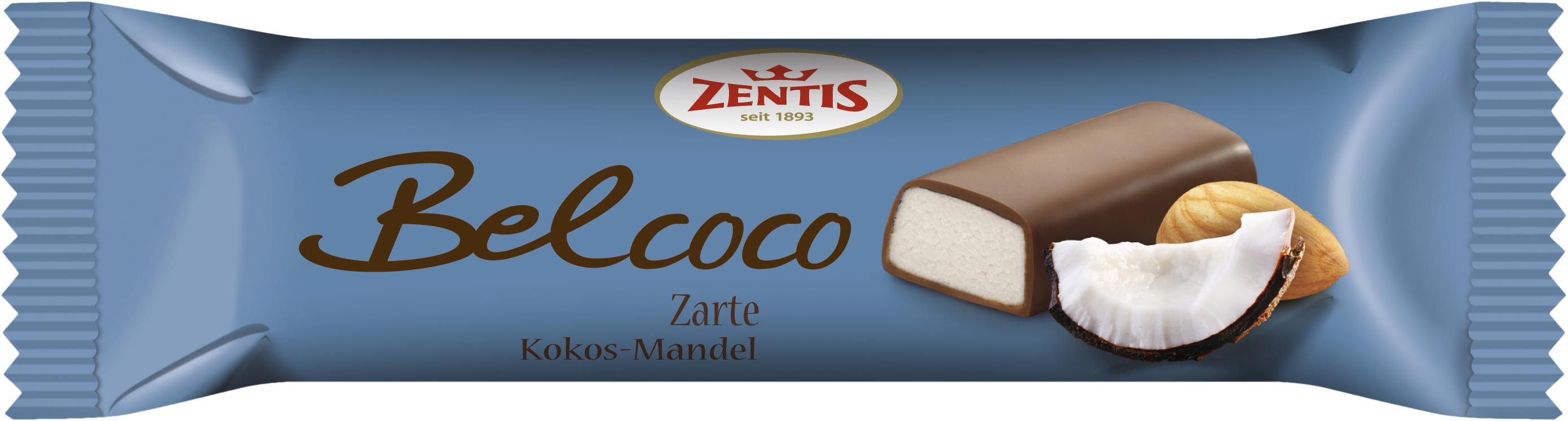 Батончик марципановый Belcoco Zentis