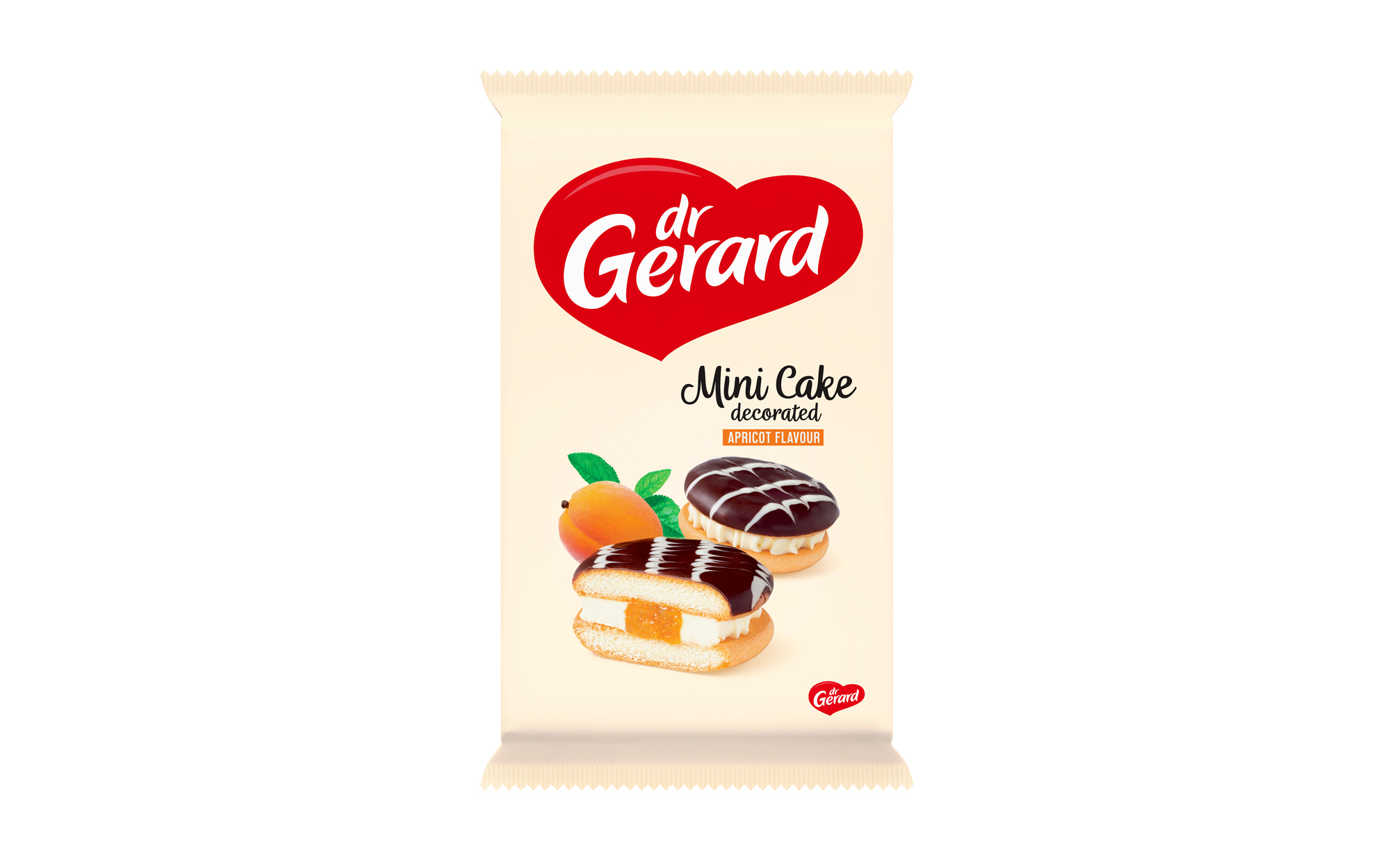 Печенье-мини c абрикосом Dr Gerard