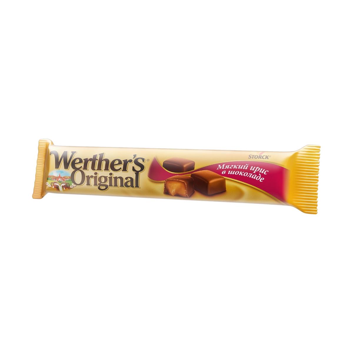 Мягкий ирис в молочном шоколаде Wether's Original