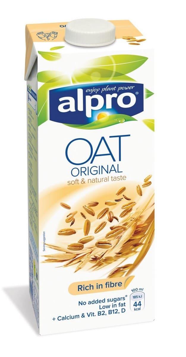 Альпро Напиток овсяный с кальцием и витаминами ALPRO овсяный напиток ne moloko ванильный десерт 250мл