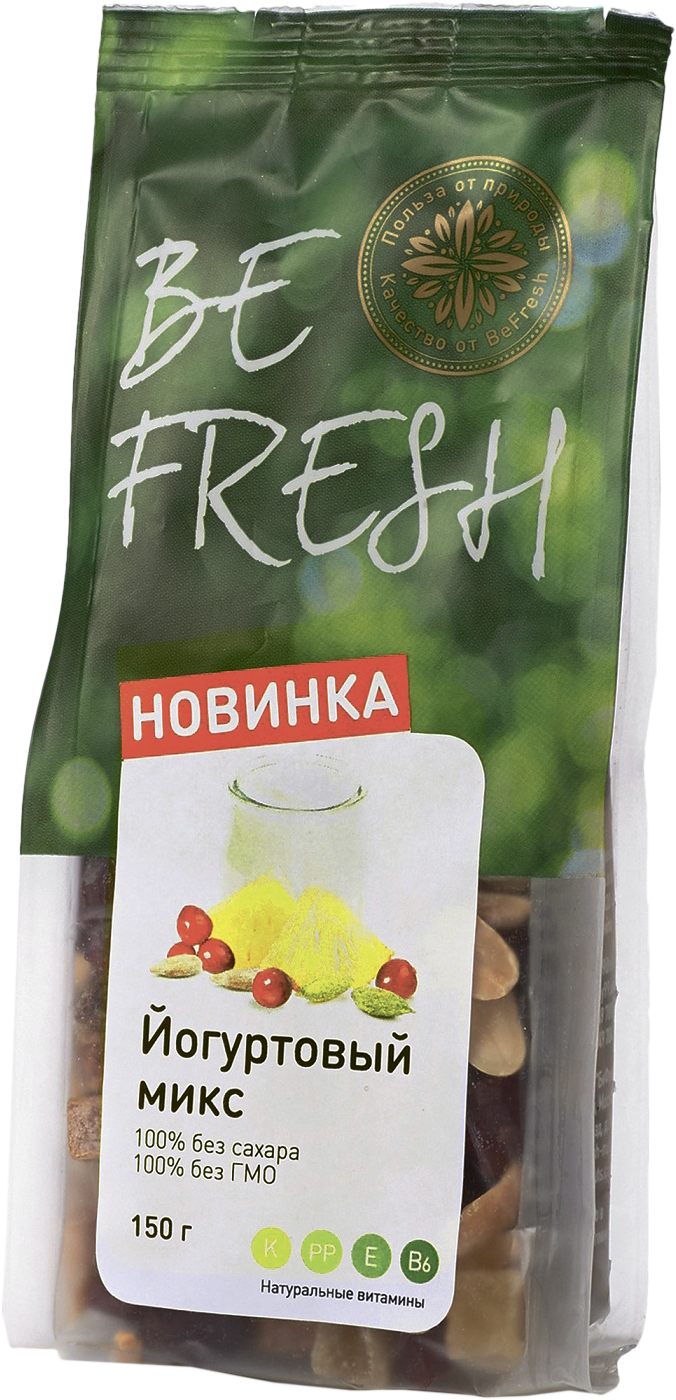 Микс орехи/сухофрукты для йогурта BeFresh