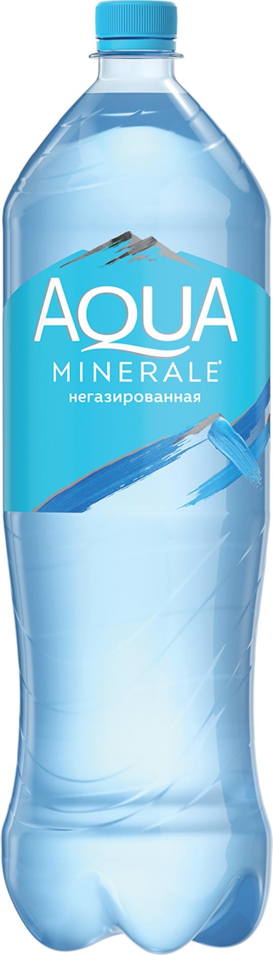 Фото - Аква Минерале Вода б/газ 1.5л ПЭТ Aqua Minerale вода aqua minerale малина 500 мл