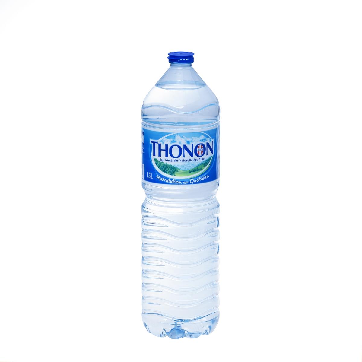 Вода минеральная природная питьевая столовая негазированная Thonon