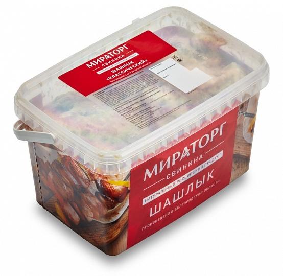 Шашлык свиной Деликатесный охл Мираторг ~ 2.3 кг