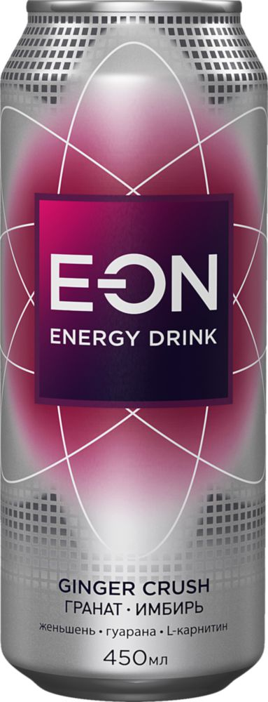 Напиток энергетический GingerCrush 0.45 л E-On