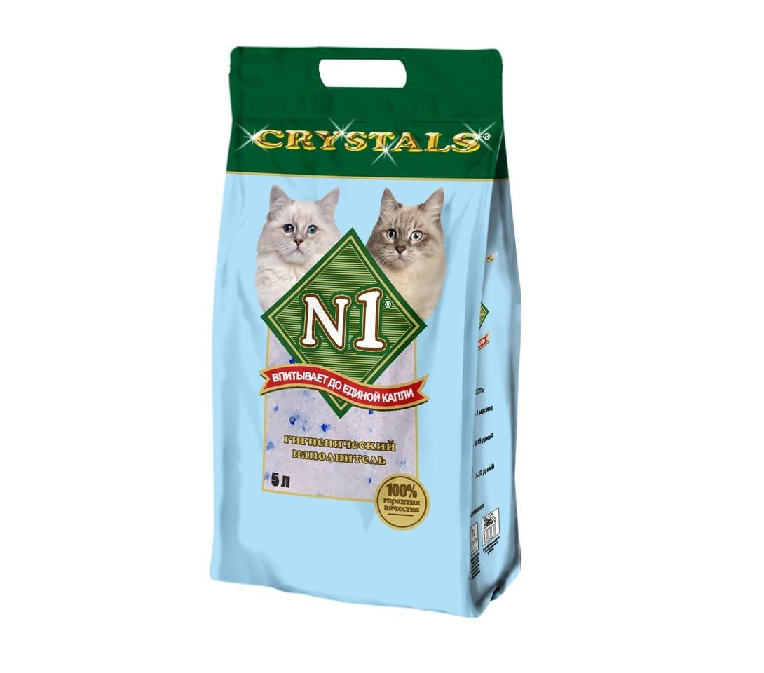 Наполнитель N1 Силикагель 5л Crystals
