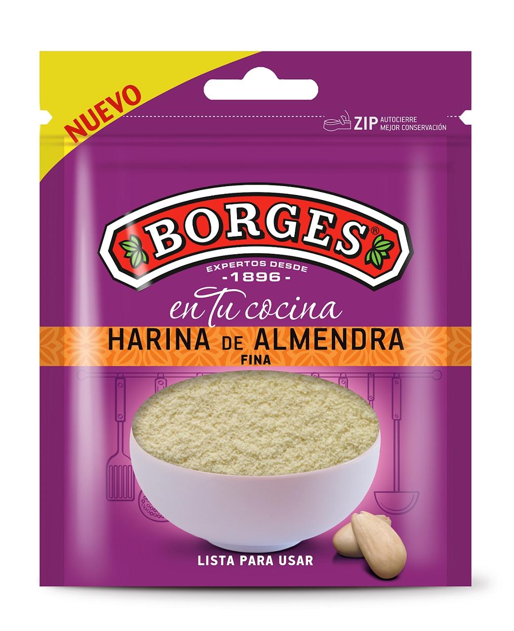 Мука миндальная Borges
