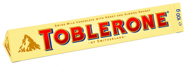 Шоколад молочный Мед/Миндаль/Нуга Toblerone