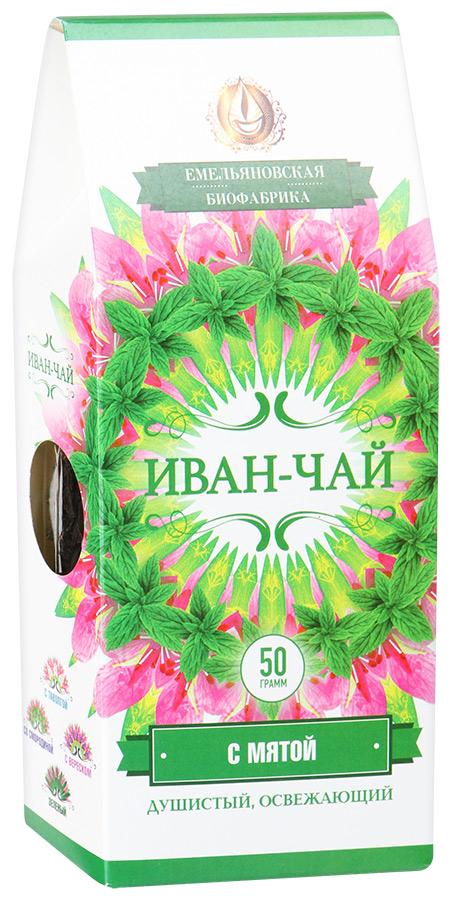 Фото - Иван чай Напиток чайный ферментированный с мятой Иван-чай чай